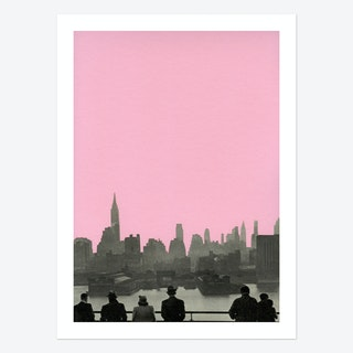 New York Nights Art Print