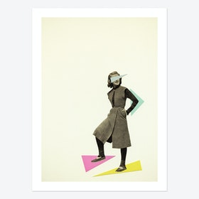 Shapely Figure Art Print