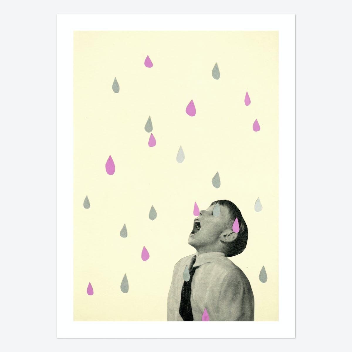 Taste the Rain Art Print