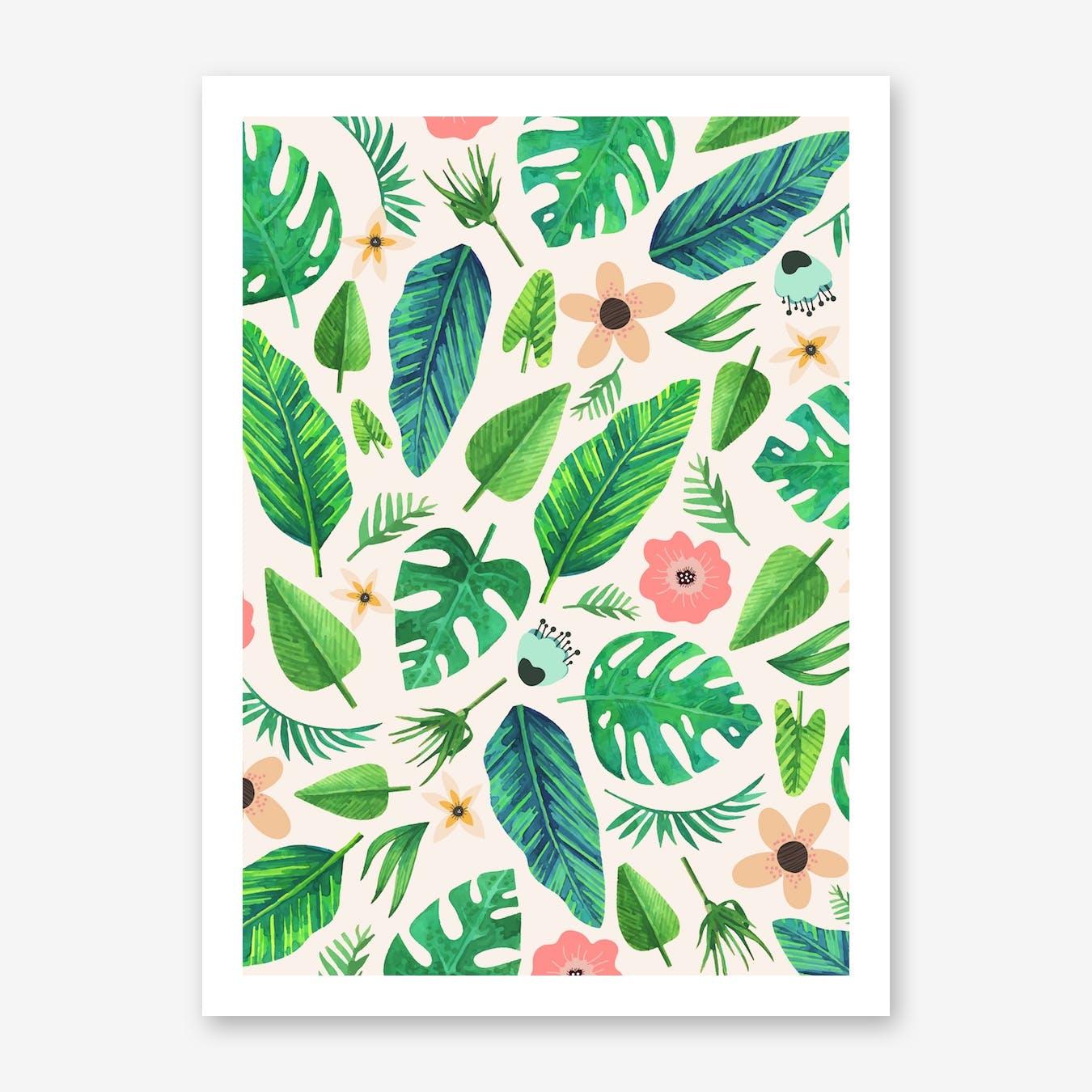 Tropical-Life-Main-Light Print