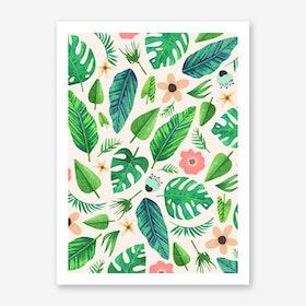 Tropical-Life-Main-Light Art Print