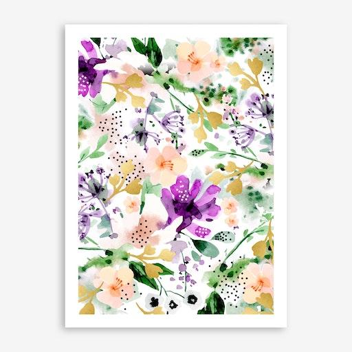 Violet Print