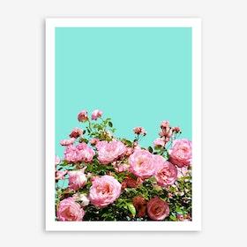 Blissful In Art Print