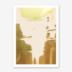 Blush Gold In Art Print