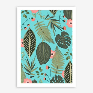 Blush Pop In Art Print