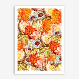 Coral Bloom In Print