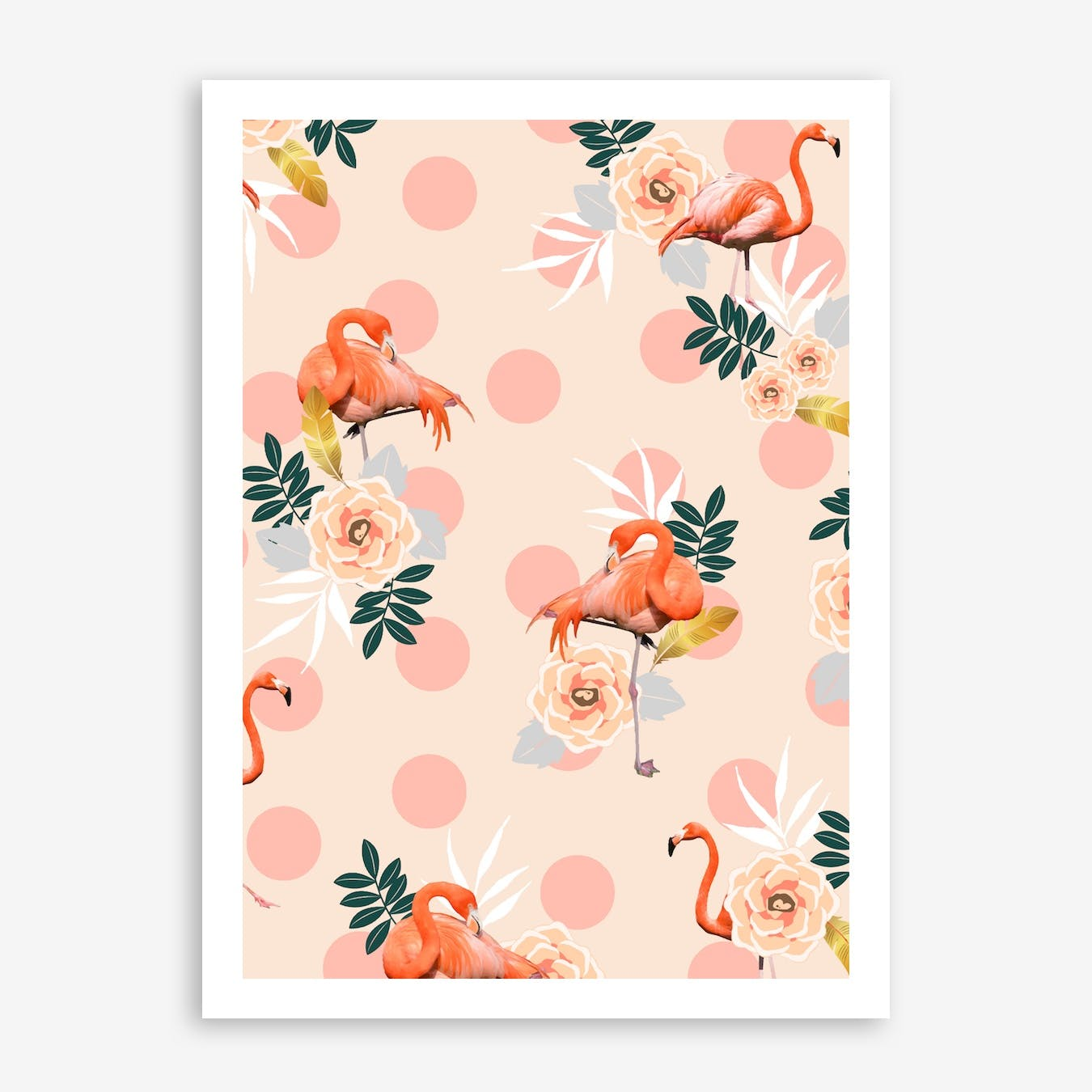 Flamingo Jazz In Print