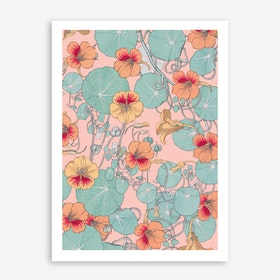 Lily Pond In Art Print