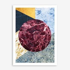 Marble Ecstasy In Art Print