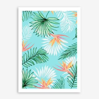 Tropic Palm In Art Print