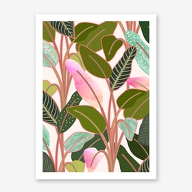 Color Paradise Art Print