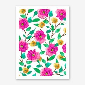 Floral Forever Art Print