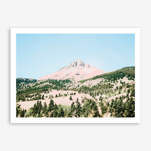 Happy Mountain Print
