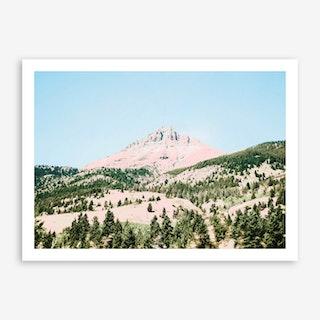 Happy Mountain Art Print