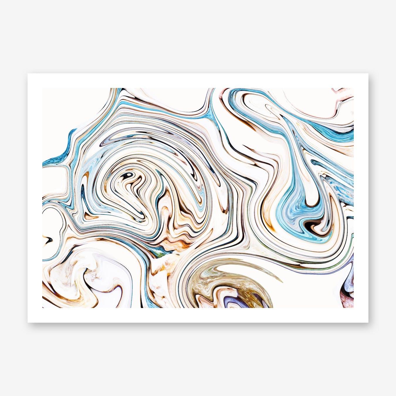 Land and Ocean Print