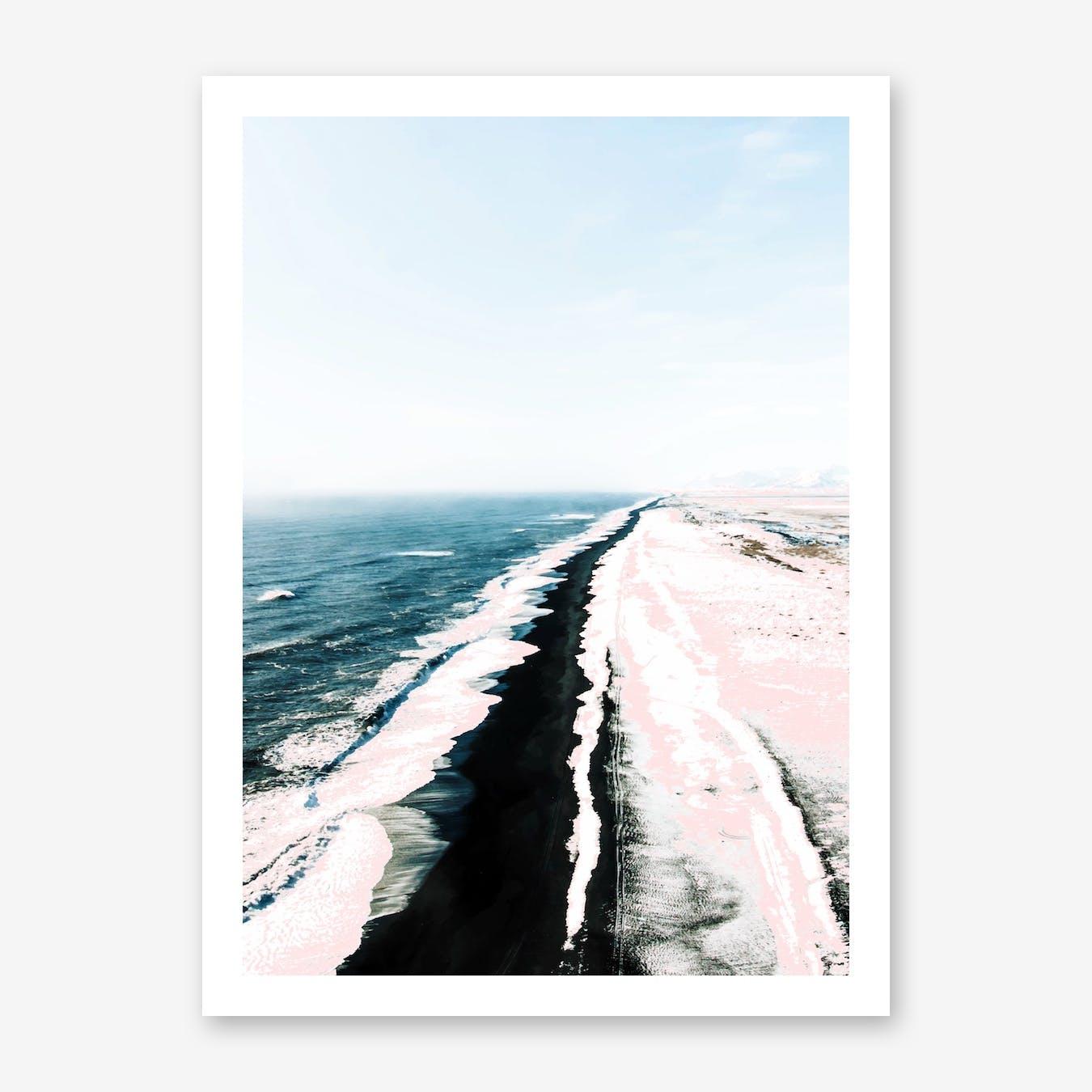 Pink Sand I Print