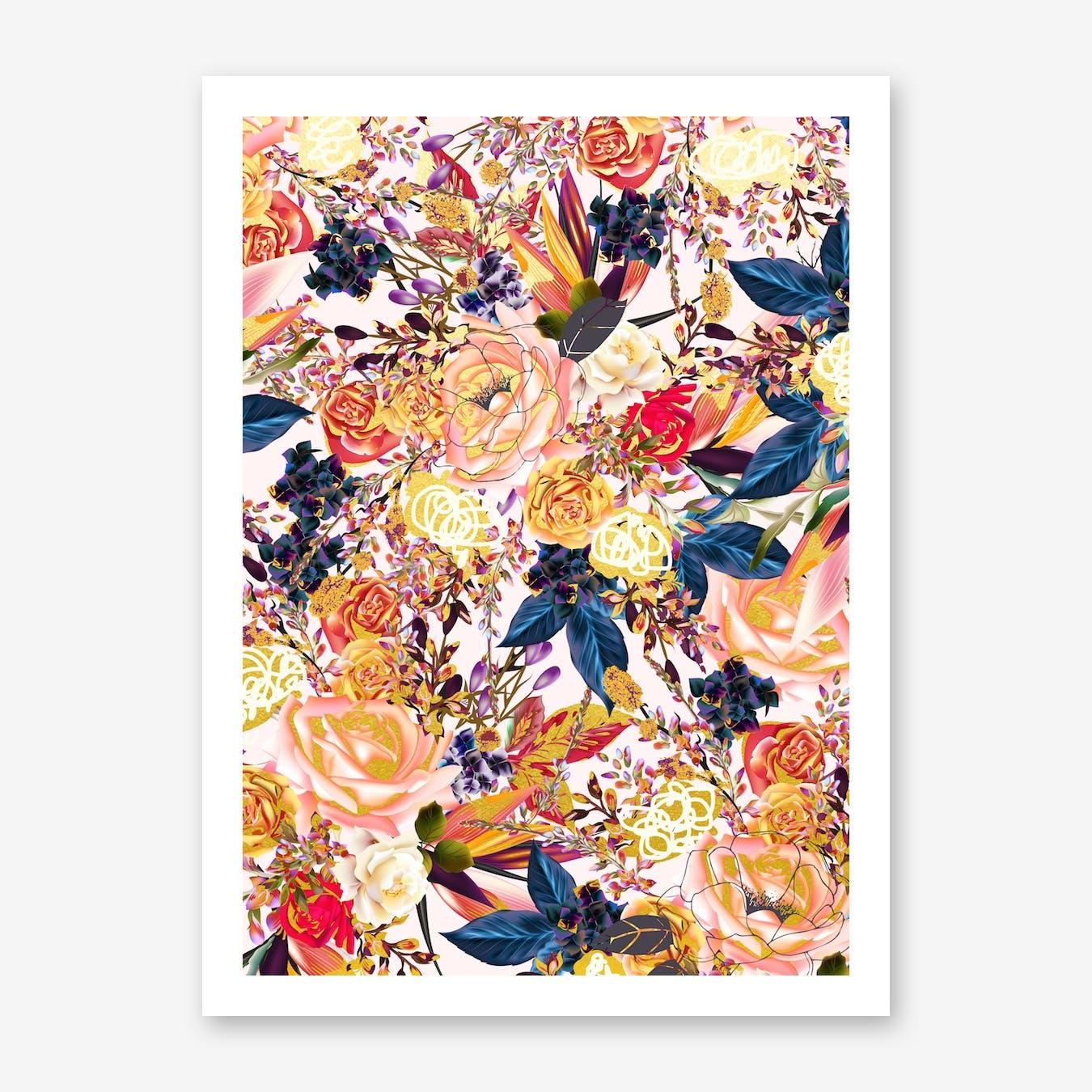 Rustic Floral Print