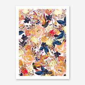 Rustic Floral Art Print