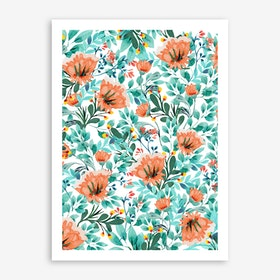Tangerine Dreams Art Print