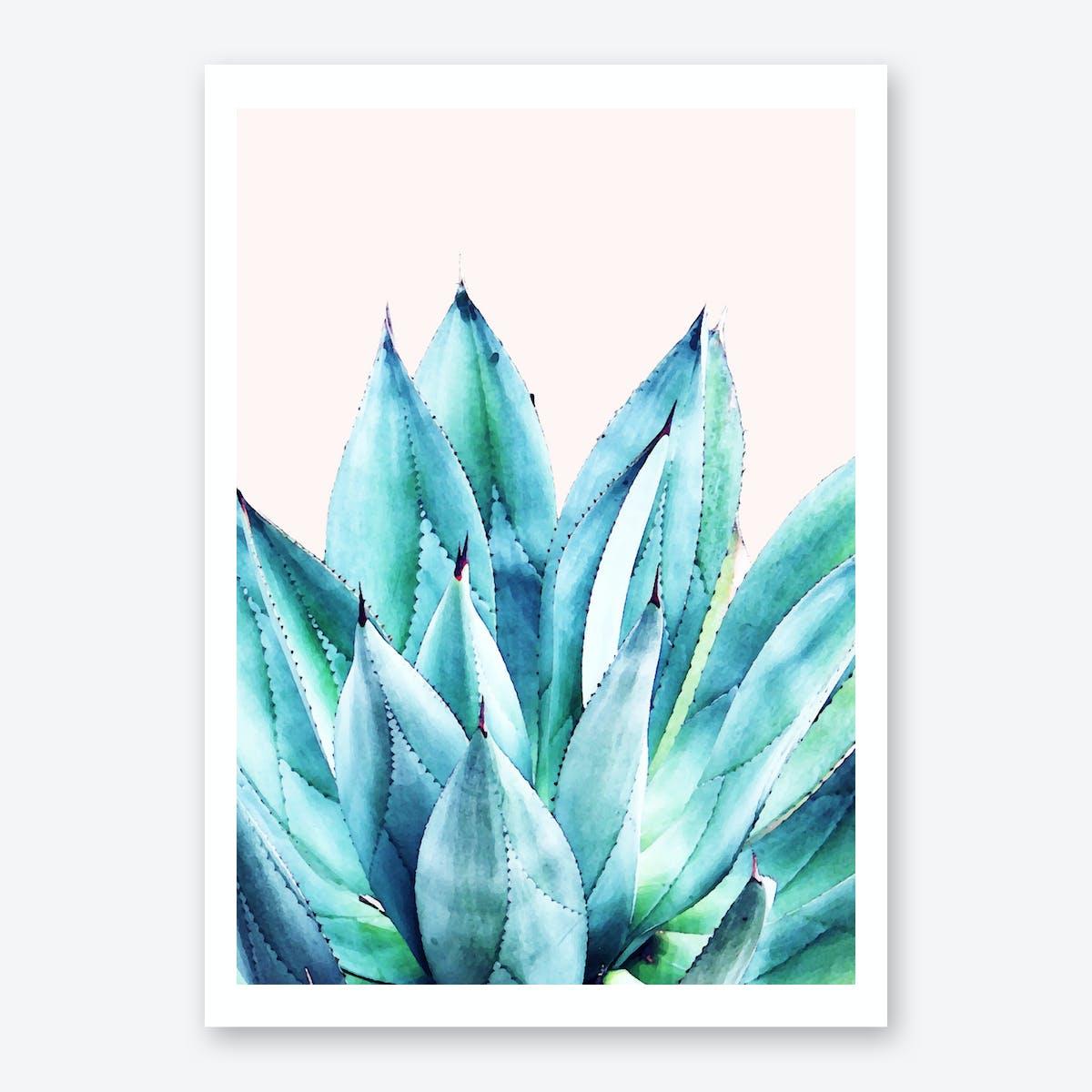 Agave Vibe Art Print