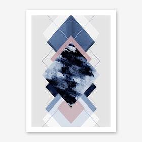 Geometric Textures 11 Art Print