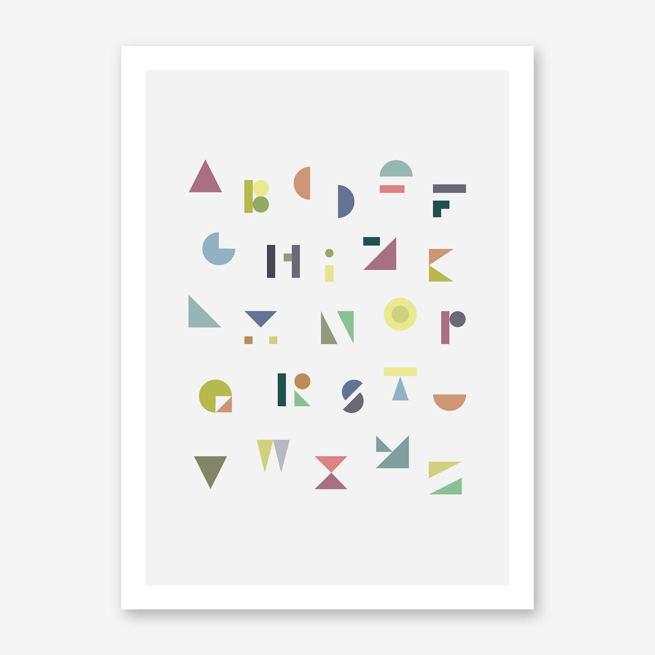 ABC Colorful