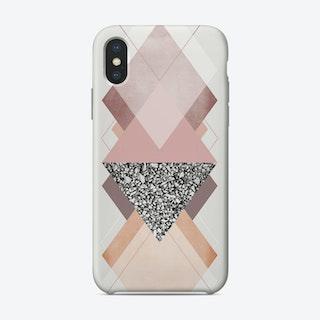 Geometric Textures 9 iPhone Case