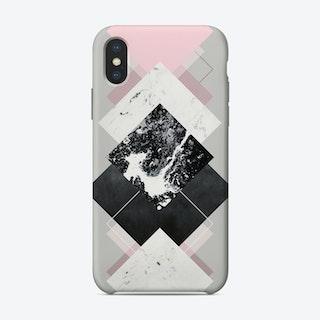 Geometric Textures 7 iPhone Case