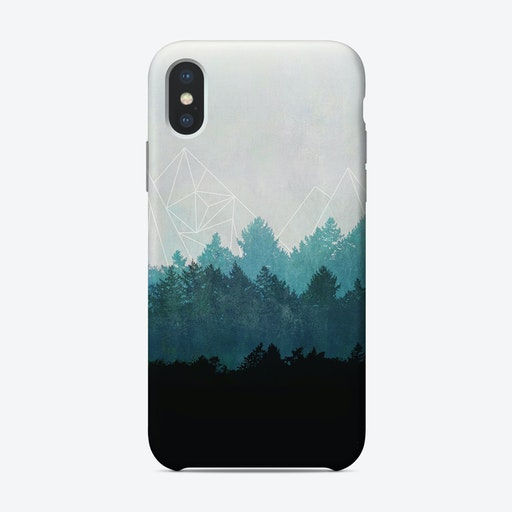 Woods Abstract iPhone Case