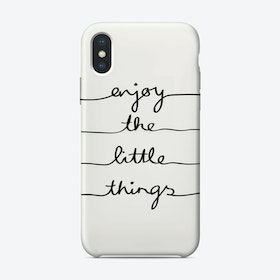 Little Things iPhone Case