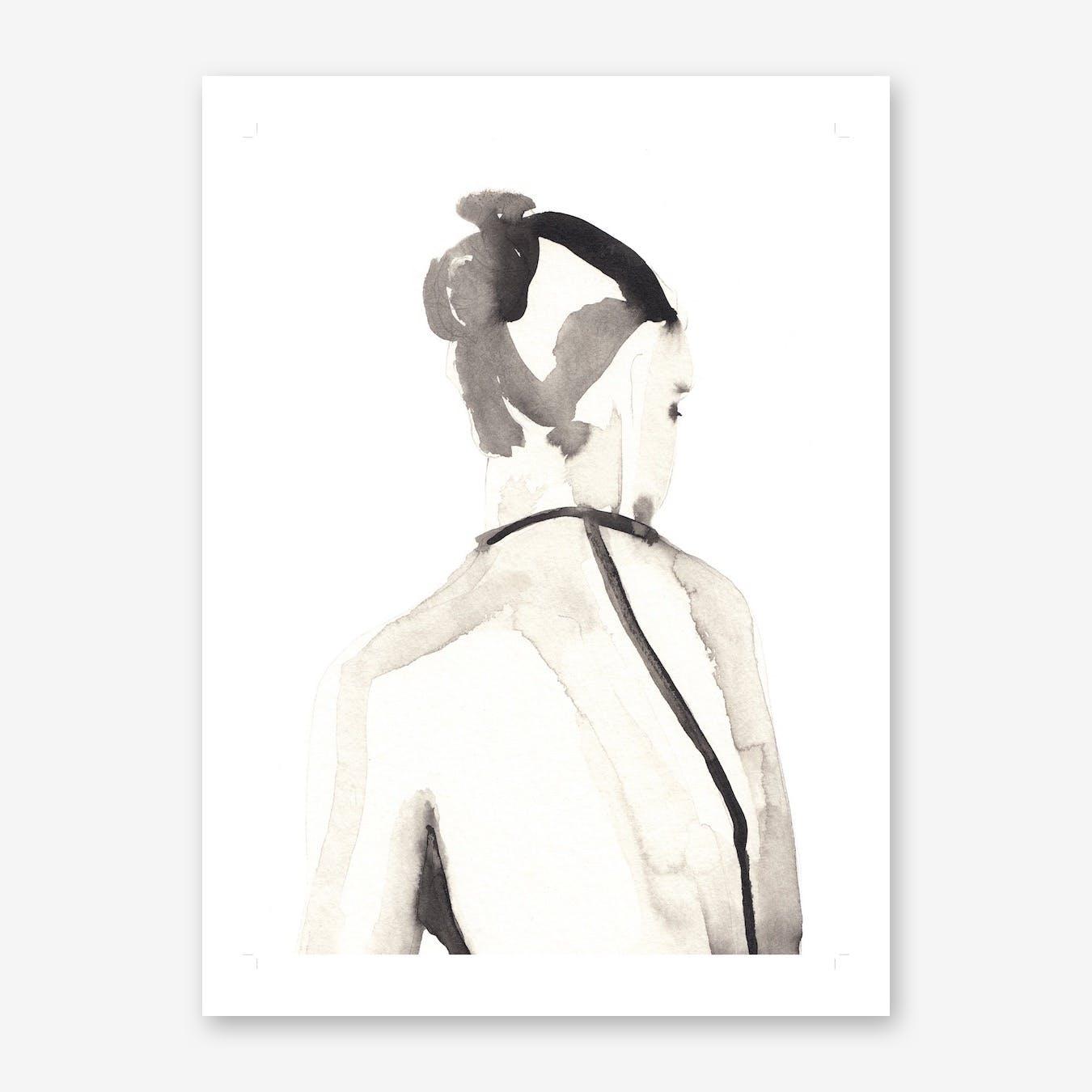Miss Vagabond 2 Art Print