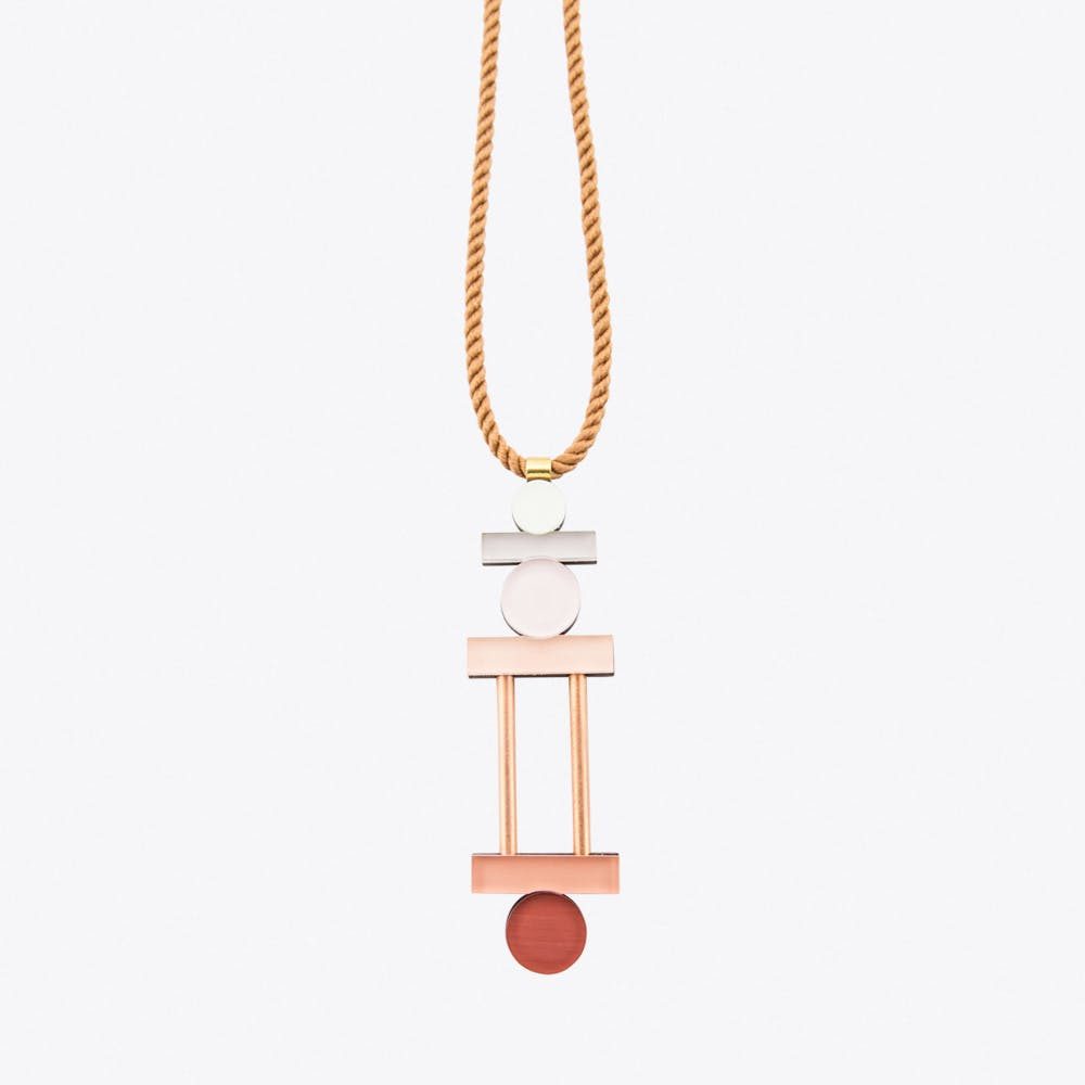 Stack Necklace Apricot