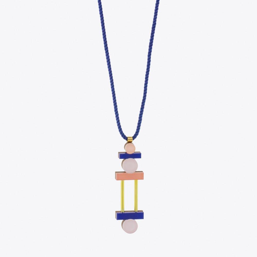 Stack Necklace Pastel Blue