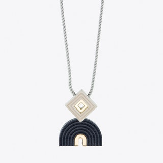 Monument Necklace Midnight Blue