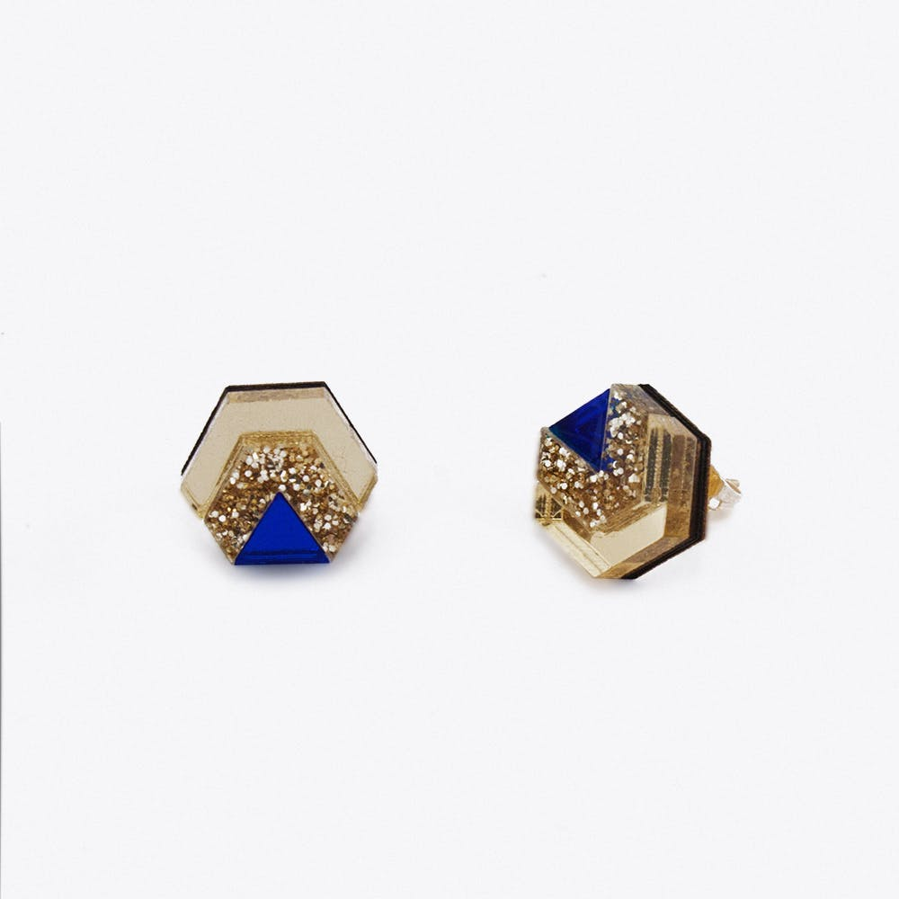 Little Hex Studs No.6