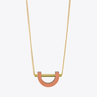 U Necklace Apricot