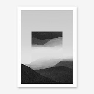 Landscapes Mirrored 2 El Cocuy Art Print