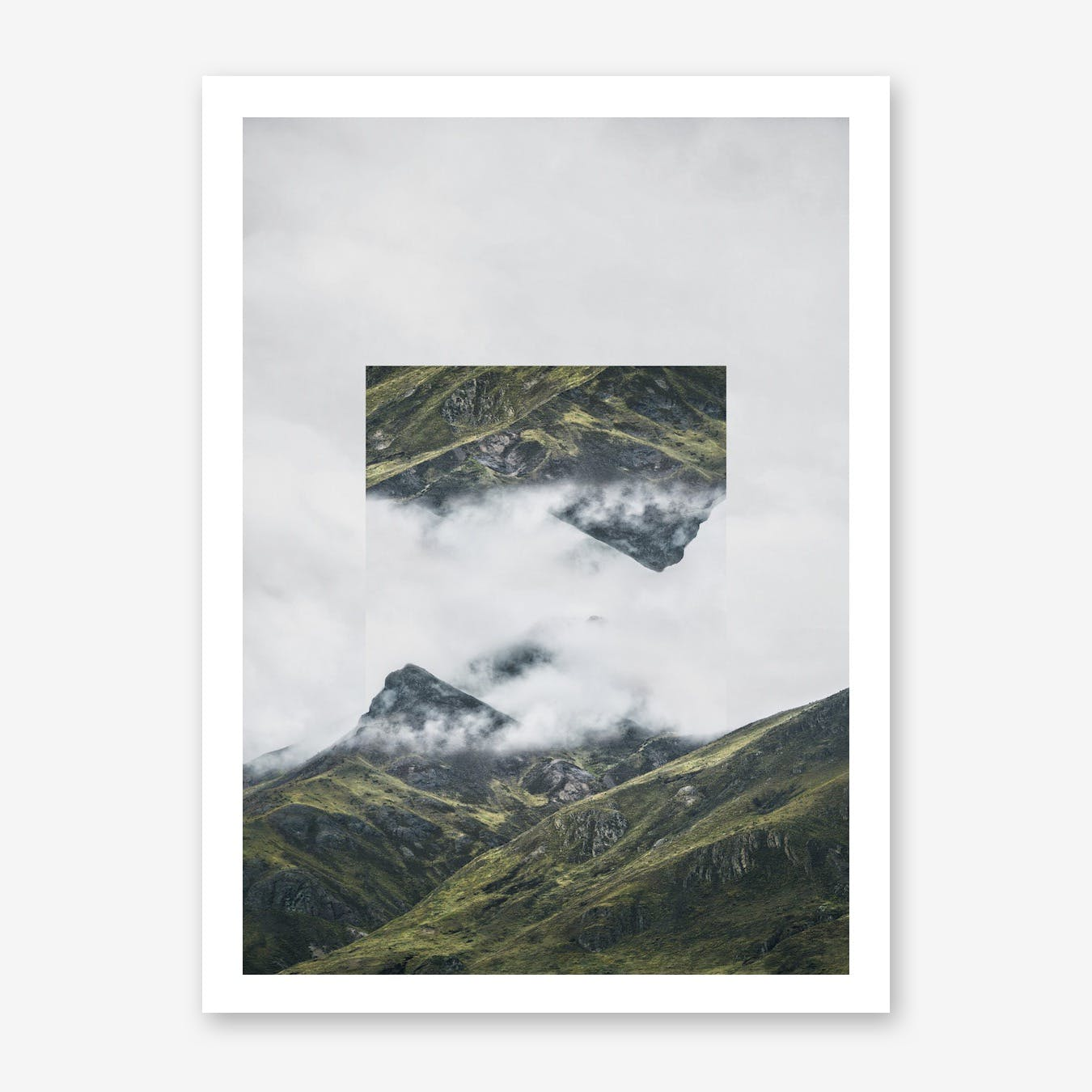 Landscapes Mirrored 1 Andes