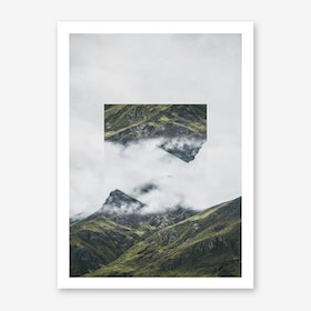 Landscapes Mirrored 1 Andes Art Print