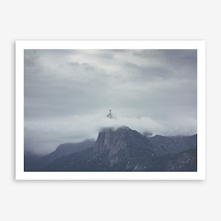 Landscapes Raw 1 Corcovado Art Print
