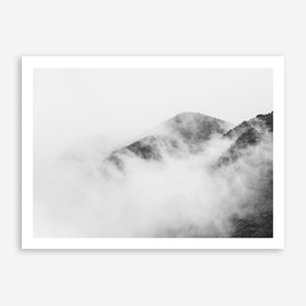Landscapes Raw 1 Nevado del Ruiz Art Print