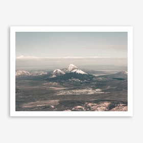 Landscapes Raw 2 Andes Art Print