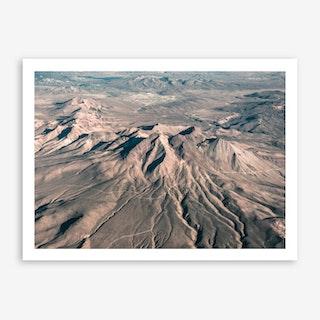 Landscapes Raw 3 Andes Art Print