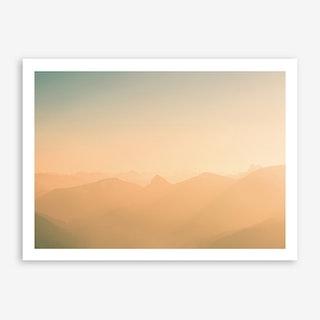 Landscapes Raw 4 Riederstein Art Print