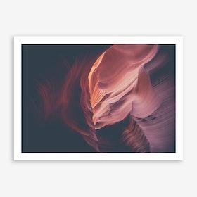 Landscapes Raw 4 Antelope Canyon Art Print