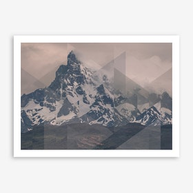Landscapes Scattered 1 Puerto Natales Art Print