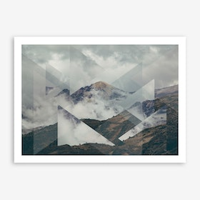Landscapes Scattered 2 Nevado del Ruiz Art Print