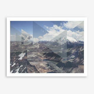 Landscapes Scattered 2 Chacaltaya Art Print