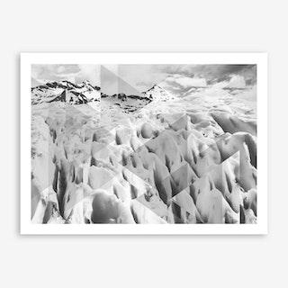 Landscapes Scattered 2 Perito Moreno Art Print