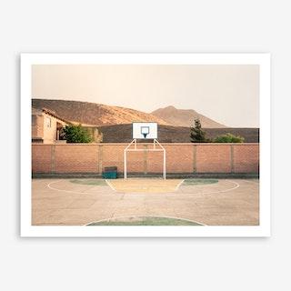 Streetball Courts 1 Potosi Art Print